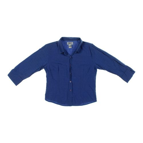 Quiz Clothing Button-up Shirt in size S at up to 95% Off - Swap.com