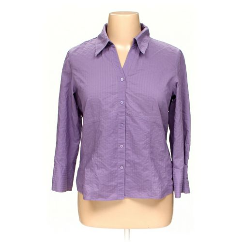 Rafaella Button-up Shirt in size 16 at up to 95% Off - Swap.com