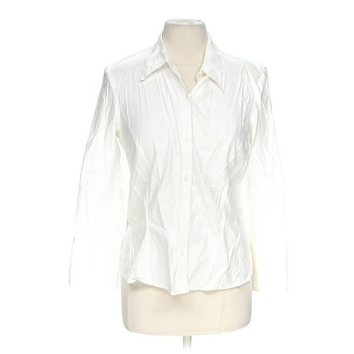 Rafaella Button-up Shirt in size 10 at up to 95% Off - Swap.com