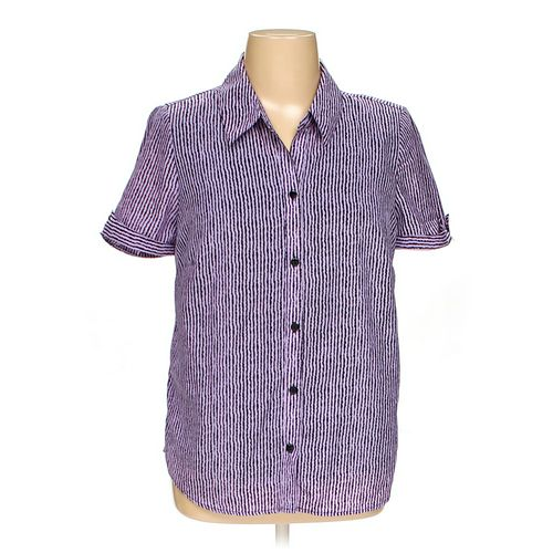 Rebecca Malone Button-up Shirt in size 1X at up to 95% Off - Swap.com