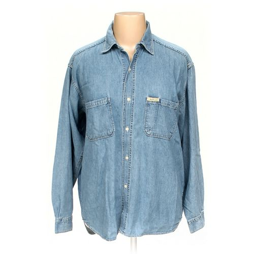 Replay Button-up Shirt in size XL at up to 95% Off - Swap.com