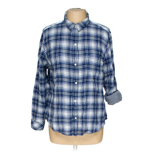 Riders by Lee Button-up Shirt in size L at up to 95% Off - Swap.com