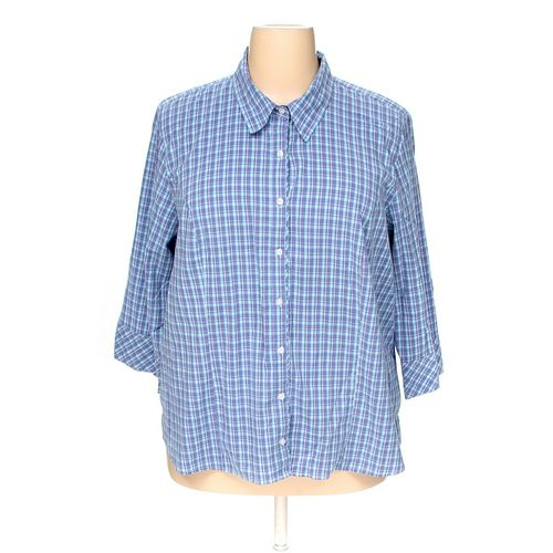 Riders Button-up Shirt in size 3X at up to 95% Off - Swap.com