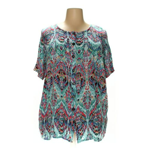 Roaman's Button-up Shirt in size 22 at up to 95% Off - Swap.com