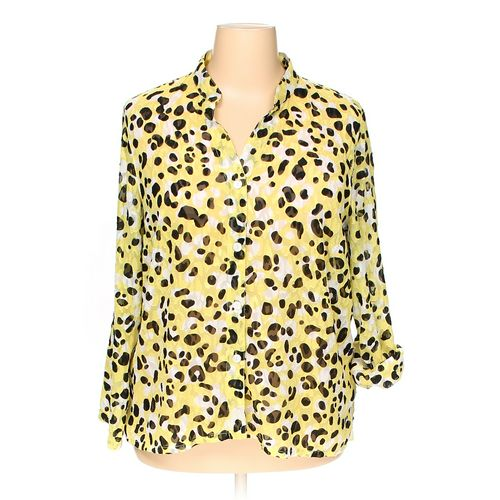 Ruby Rd. Button-up Shirt in size 18 at up to 95% Off - Swap.com