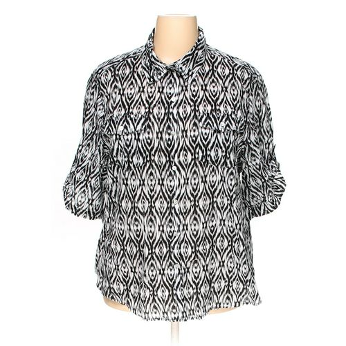 Ruby Rd. Button-up Shirt in size 3X at up to 95% Off - Swap.com