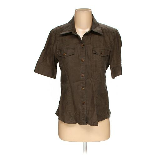 Saks Fifth Avenue Button-up Shirt in size 4 at up to 95% Off - Swap.com