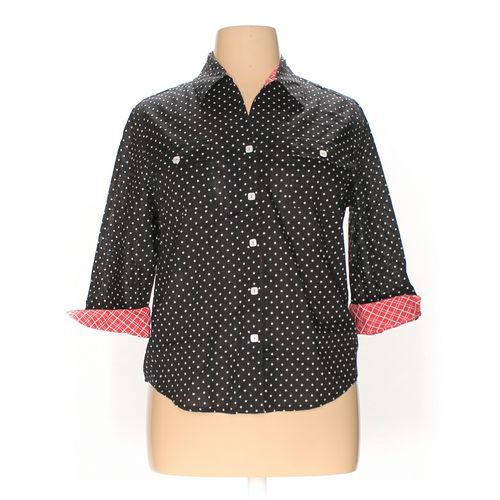 Samantha Grey Button-up Shirt in size 16 at up to 95% Off - Swap.com