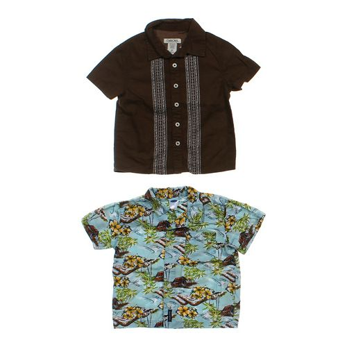 Cherokee Button-up Shirt Set in size 2/2T at up to 95% Off - Swap.com