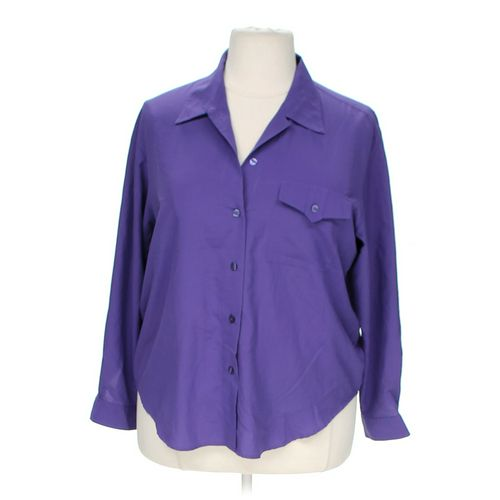 Sheridan Square Woman Button-up Shirt in size 18 at up to 95% Off - Swap.com