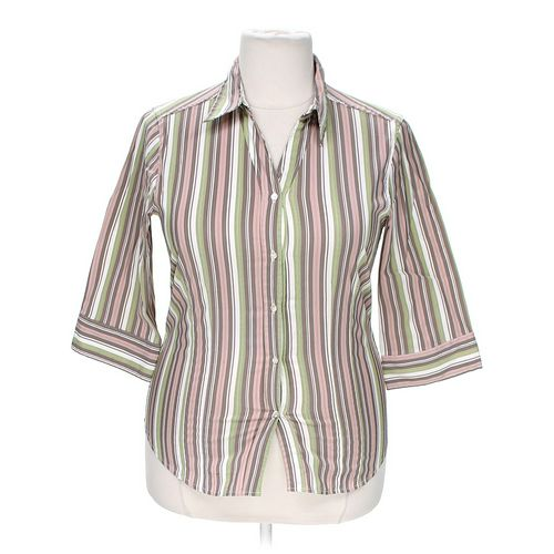 She's Cool Button-up Shirt in size 2X at up to 95% Off - Swap.com