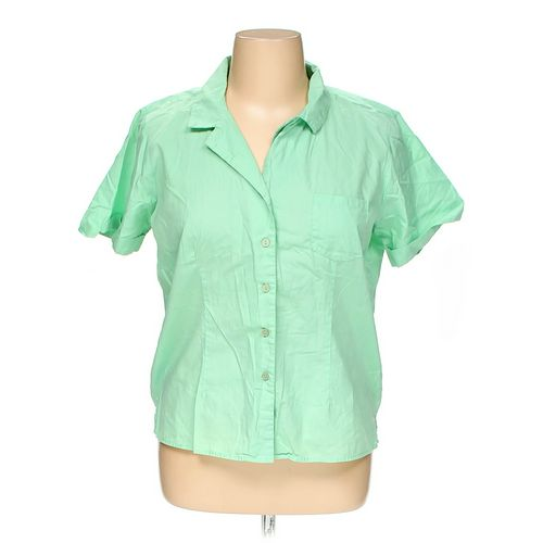 She's Cool Button-up Shirt in size XL at up to 95% Off - Swap.com