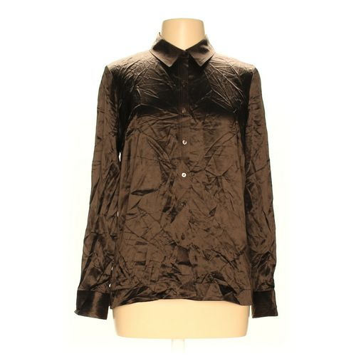 Sigrid Olsen Button-up Shirt in size M at up to 95% Off - Swap.com