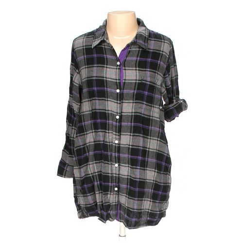 Simply Vera by Vera Wang Button-up Shirt in size L at up to 95% Off - Swap.com