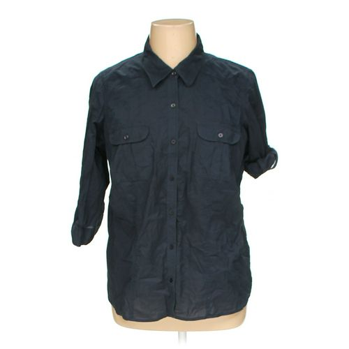 Sonoma Button-up Shirt in size 1X at up to 95% Off - Swap.com