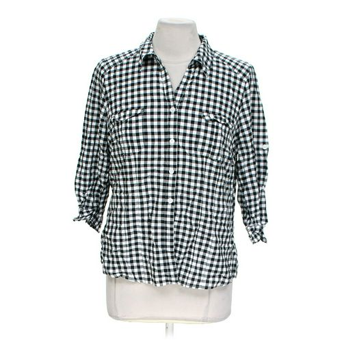 St. John's Bay Button-up Shirt in size L at up to 95% Off - Swap.com