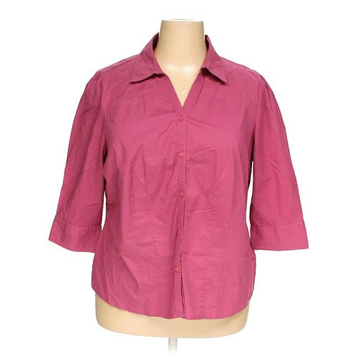 St. John's Bay Button-up Shirt in size 2X at up to 95% Off - Swap.com