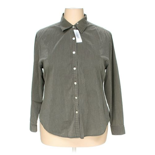 Style & Co Button-up Shirt in size 18 at up to 95% Off - Swap.com