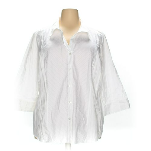 Style & Co Button-up Shirt in size 24 at up to 95% Off - Swap.com