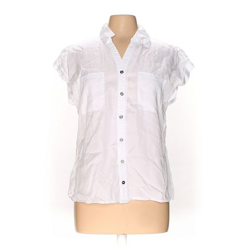 Style & Co Button-up Shirt in size M at up to 95% Off - Swap.com