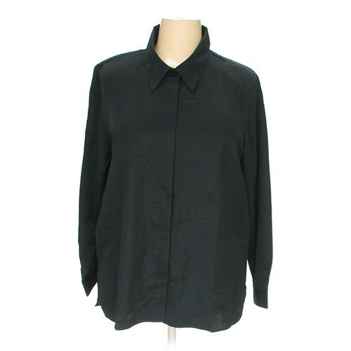 Susan Graver Button-up Shirt in size 2X at up to 95% Off - Swap.com