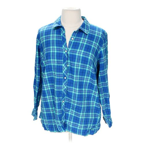 Talbots Button-up Shirt in size 2X at up to 95% Off - Swap.com