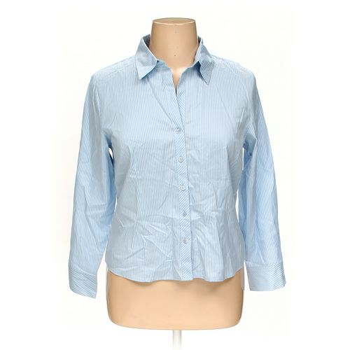 Talbots Button-up Shirt in size 16 at up to 95% Off - Swap.com