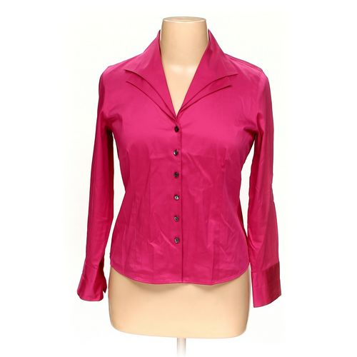 Talbots Button-up Shirt in size 14 at up to 95% Off - Swap.com