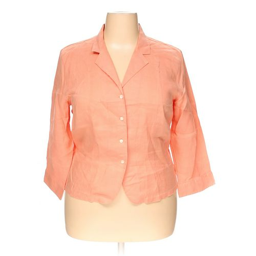 Talbots Button-up Shirt in size 18 at up to 95% Off - Swap.com