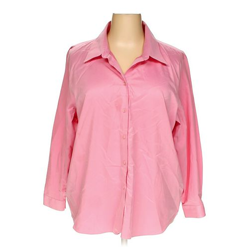 Talbots Button-up Shirt in size 22 at up to 95% Off - Swap.com