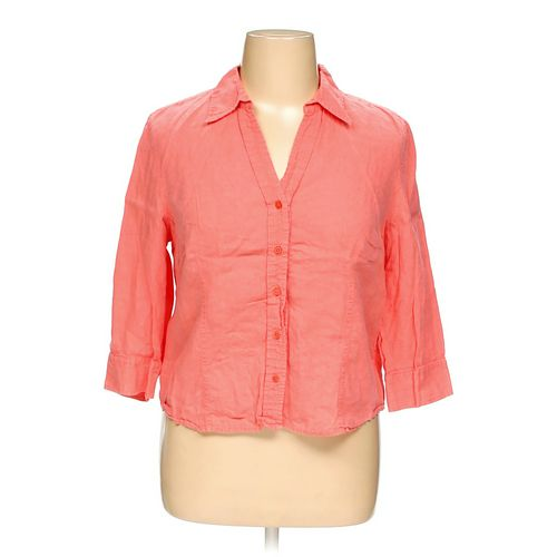 Talbots Button-up Shirt in size XL at up to 95% Off - Swap.com