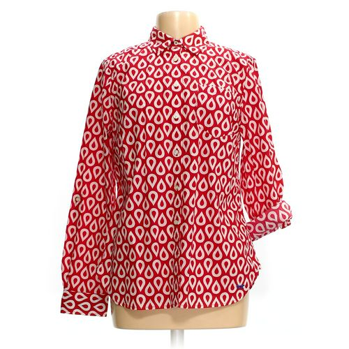 Talbots Button-up Shirt in size 12 at up to 95% Off - Swap.com