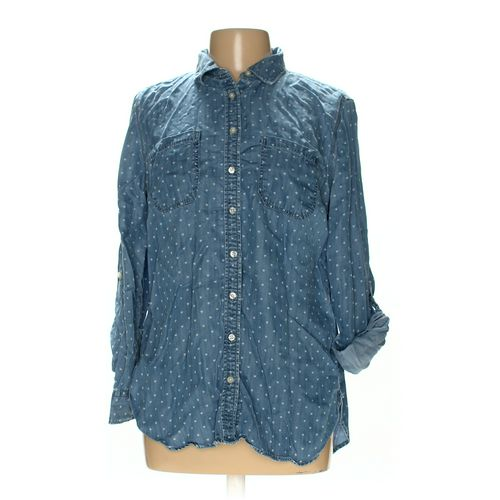 Talbots Button-up Shirt in size L at up to 95% Off - Swap.com