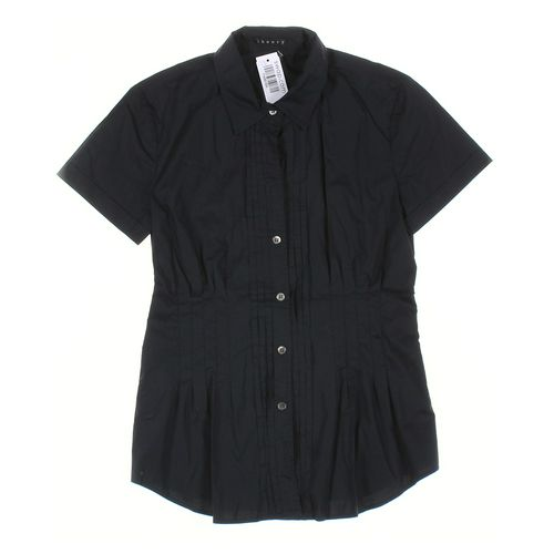 Theory Button-up Shirt in size PP at up to 95% Off - Swap.com