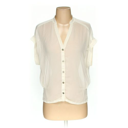 TOPSHOP Button-up Shirt in size 2 at up to 95% Off - Swap.com