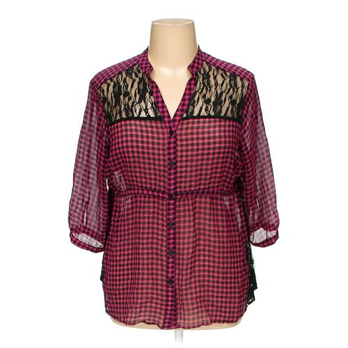 Torrid Button-up Shirt in size 14 at up to 95% Off - Swap.com