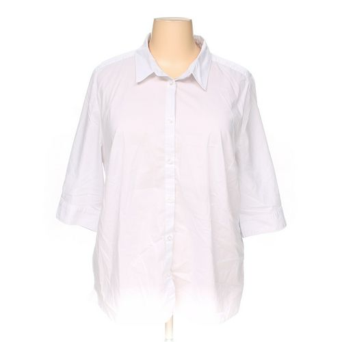 Ulla Popken Button-up Shirt in size 24 at up to 95% Off - Swap.com