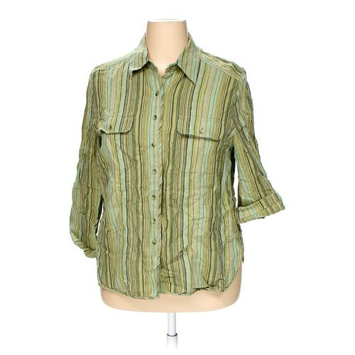 Valerie Stevens Button-up Shirt in size 1X at up to 95% Off - Swap.com