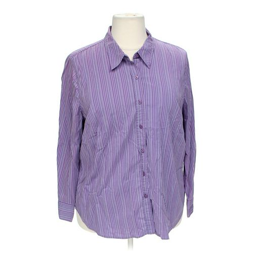 Venezia Button-up Shirt in size 22 at up to 95% Off - Swap.com