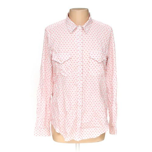 Victoria's Secret Button-up Shirt in size L at up to 95% Off - Swap.com