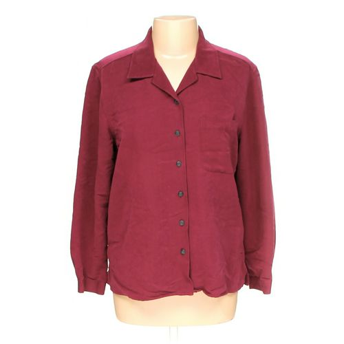 Villager By Liz Claiborne Button-up Shirt in size L at up to 95% Off - Swap.com