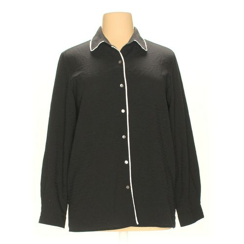 Villager By Liz Claiborne Button-up Shirt in size XL at up to 95% Off - Swap.com