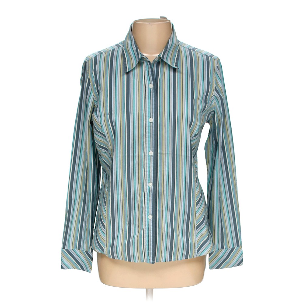 883307e454b Villager By Liz Claiborne Button-up Shirt in size 12 at up to 95%