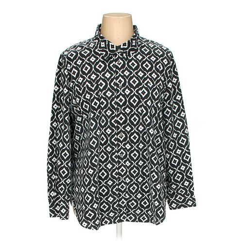 Wendy Williams Button-up Shirt in size 1X at up to 95% Off - Swap.com