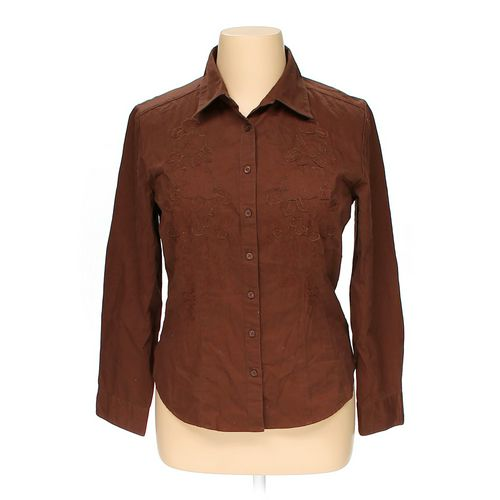 Westbound Button-up Shirt in size 16 at up to 95% Off - Swap.com