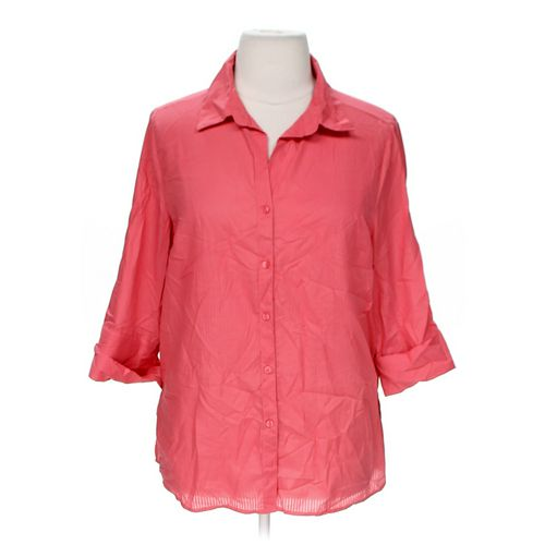 White Stag Button-up Shirt in size 16 at up to 95% Off - Swap.com