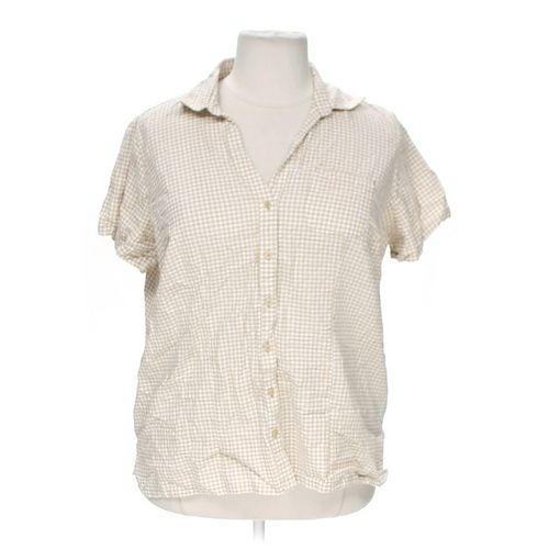 White Stag Button-up Shirt in size 18 at up to 95% Off - Swap.com