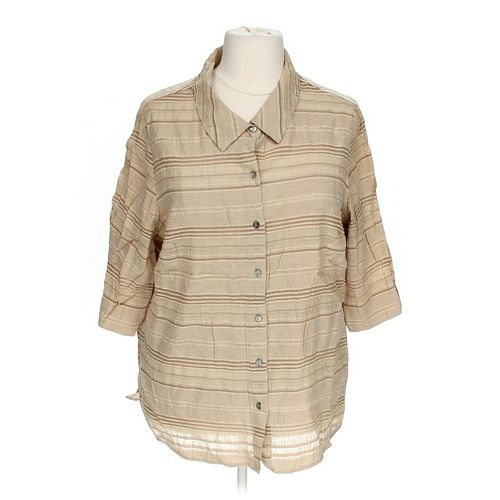 White Stag Button-up Shirt in size 22 at up to 95% Off - Swap.com