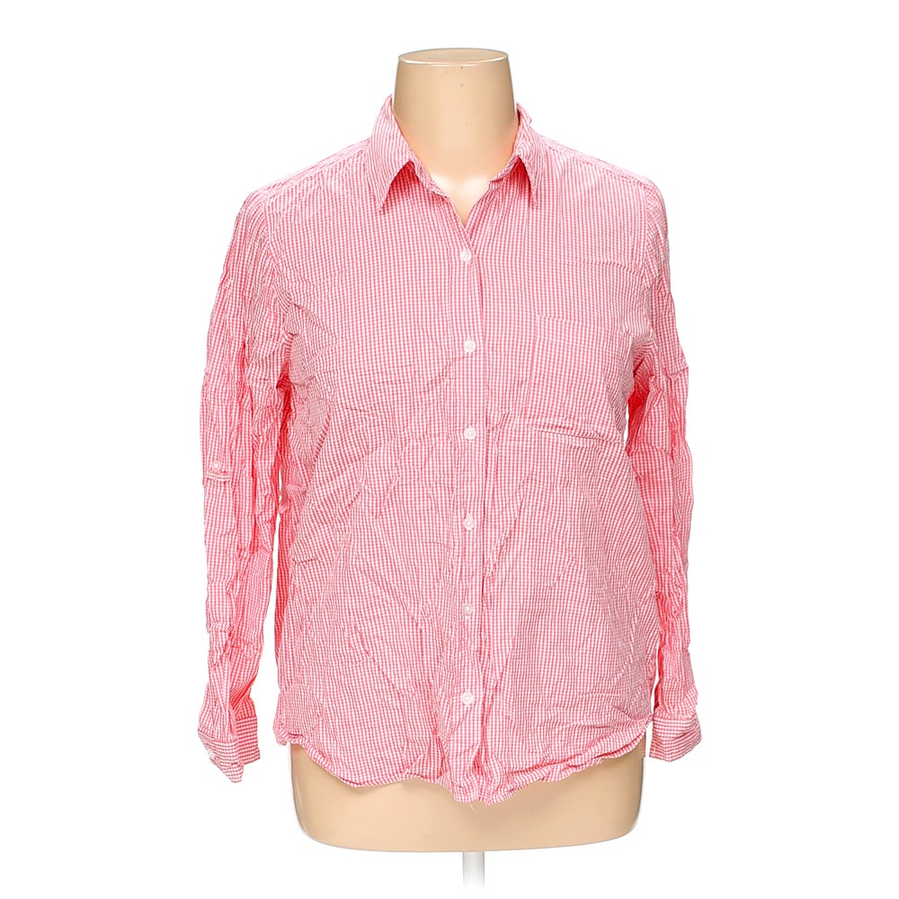 6960da876eeea White Stag Button-up Shirt in size XL at up to 95% Off -