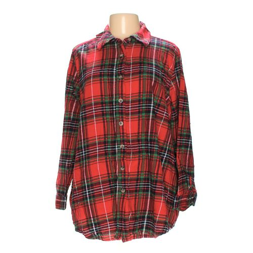 Woman Within Button-up Shirt in size 1X at up to 95% Off - Swap.com